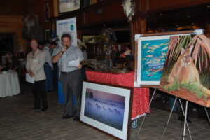 """""""Art Auction with work from Guy Harvey"""" by MyFWC Florida Fish and Wildlife is licensed under CC BY-ND 2.0"""